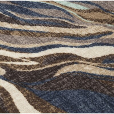Grise Blue/Brown Area Rug