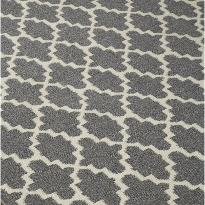 Etzel Gray/Tan Area Rug Rug Size: Rectangle 5 x 7