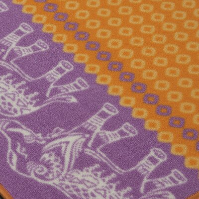 Grasmere Orange Area Rug
