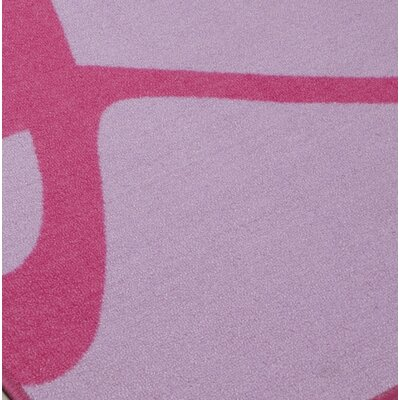 Knopf Lavender/Pink Area Rug