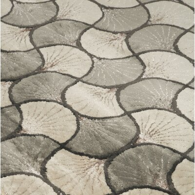 Meister Metallic Area Rug Rug Size: Rectangle 5 x 73