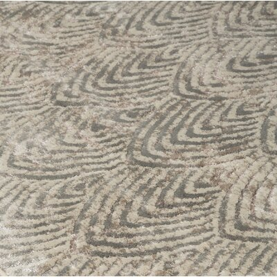Kohlmeier Metallic Area Rug Rug Size: Rectangle 710 x 910
