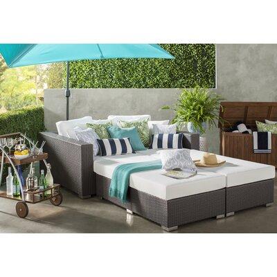 Throw Pillow Size: 18 H x 18 W x 5 D, Color: Quiet Gray