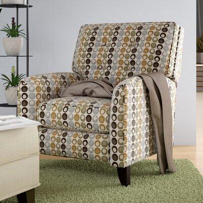Rio Flair Manual Recliner Upholstery: Viewpoint Tan