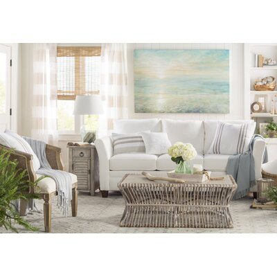 Carman Ivory/Light Gray Indoor/Outdoor Area Rug Rug Size: Rectangle 5 x 8