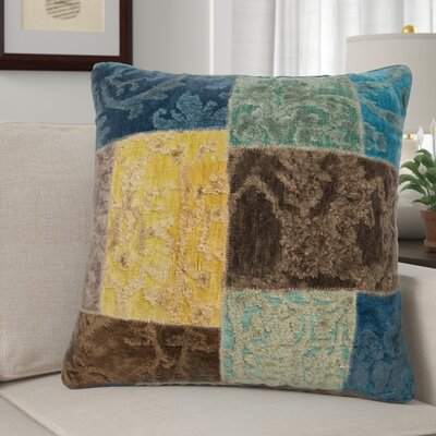 Claudie Throw Pillow Color: Pacifico