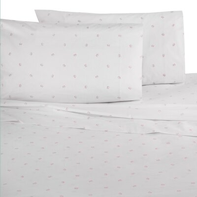 Tossed Skip-jack Pillow Cases Color: Gray, Size: Standard
