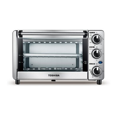 0.4 Cu. Ft. 4 Slice Toaster Oven MG12GQN-CHSS