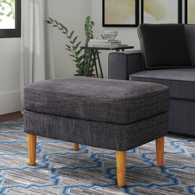 Boer Ottoman Upholstery Color: Grey
