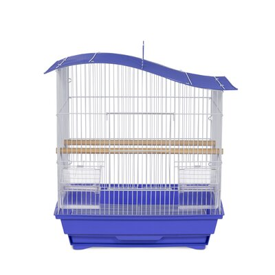 Soho Pet Wave Top Cockatiel Bird Cage with Removable Tray