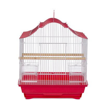 Soho Pet Crown Top Cockatiel Bird Cage with Removable Tray