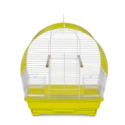 Soho Pet Dome Top Cockatiel Bird Cage with Removable Tray