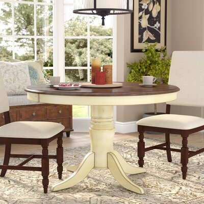 Scottville Dining Table Base Finish: White