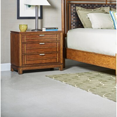 Southampton 3 Drawer Nightstand