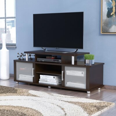Westleigh City Life 59 TV Stand Color: Chocolate