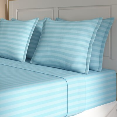 Whitman Sheet Set Size: King, Color: Aqua