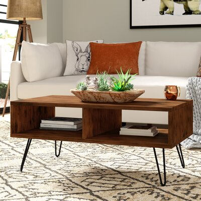 Whitaker Wood Top Coffee Table
