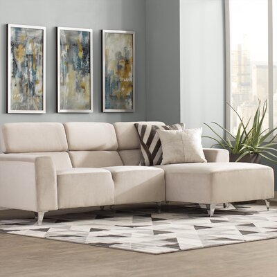 Talus Sectional Upholstery: Wheat