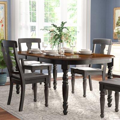 Scottville Extenable Dining Table Base Finish: Black