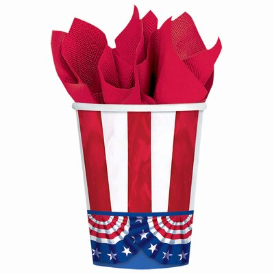 Patriotic American Pride 9 oz. Paper Everyday Cup 681485