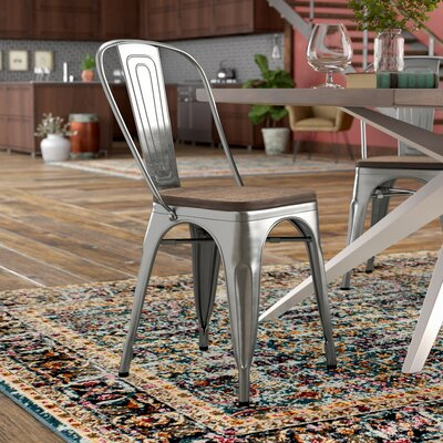 Ashlyn Dining Chair Finish: Gunmetal