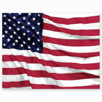 Patriotic Flying Colours Plastic Table Cover 575028