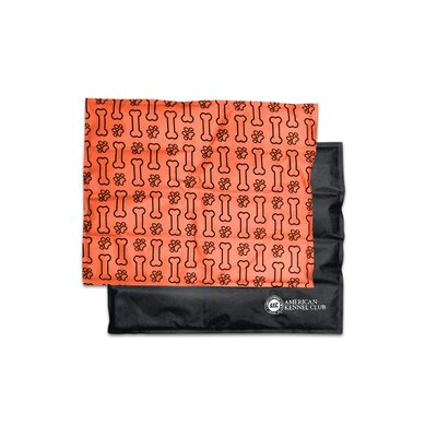 "Paw And Bone Pet Cooling Mat/pad Size: Large (20"" W X 26"" D X 0.5"" H), Color: Orange"