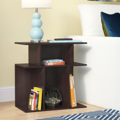 Rene End Table Color: Cappuccino