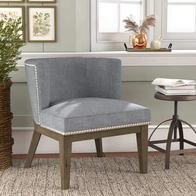 Riverton Barrel Chair Upholstery: Gray