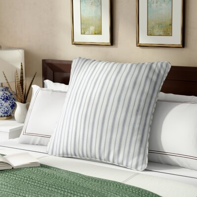 Karen Striped Gray Euro Sham