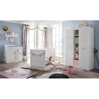 3-tlg. Babyzimmer-Set Ronja | Kinderzimmer > Babymöbel > Komplett-Babyzimmer | Holzwerkstoff | TrendTeam