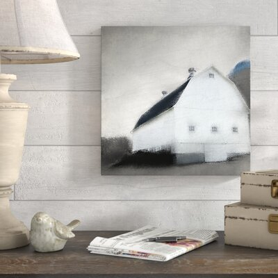 'Gray Skies' Graphic Art Print on Canvas 3084A0210AD04249A638C24BC38B8E08