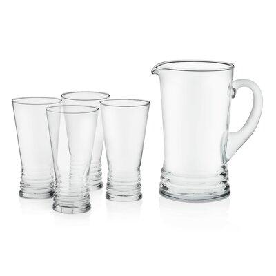 Monclova Glass Entertaining 5 Piece Beverage Serving Set 99101