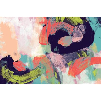 'Vibrant Spring II' Print on Canvas 9E5E190A218E43189A156A7498324D02