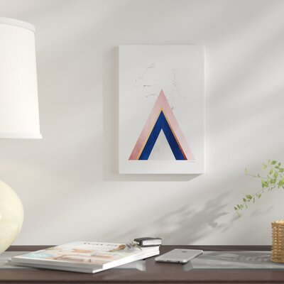 'Marble Mountain' Graphic Art Print on Canvas