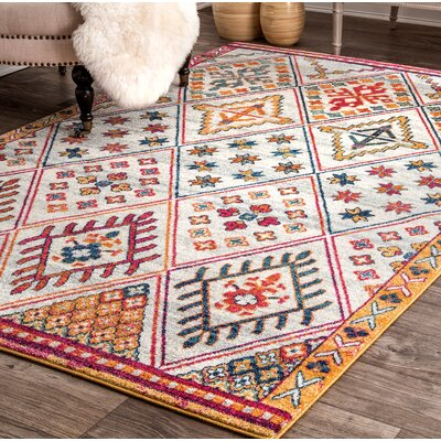 Peterman Light Gray Area Rug Rug Size: Rectangle 8 x 10