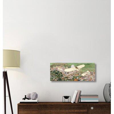 ''Rome to Paris by Air Non-Stop' Print on Wrapped Canvas 0857F1B4621B4A1DA39654BD63F0CAF8