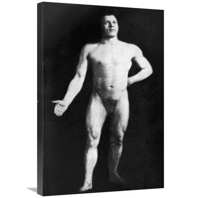 'Nude Bodybuilder' Photographic Print on Wrapped Canvas 33DEEF0F4A674601B99176287C9A372E