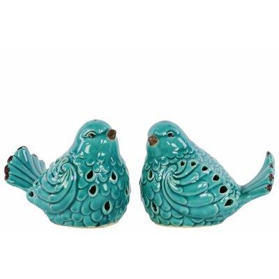 Santos Bird 2 Piece Figurine Set 6B68C13770C04844A8149F09ECFC2DB8