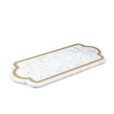 Rectangular Marble Serve Board Platter
