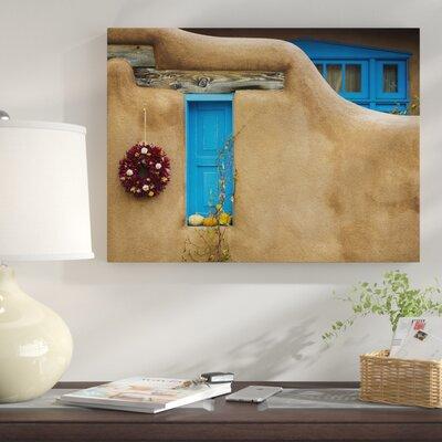'New Mexico Adobe I' Photographic Print on Wrapped Canvas 7E25C9F60D814516824322A49D2C47E9