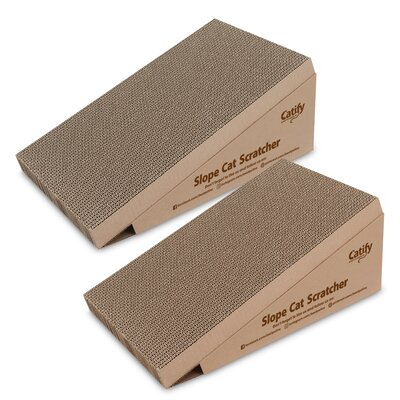 Slope Cat Scratching Board With Catnip