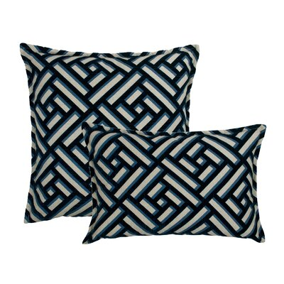 Brick 2 Piece Decorative Pillow Set