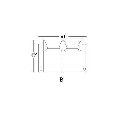 Leather Home Theater Row Seating (Row of 2) BF094663