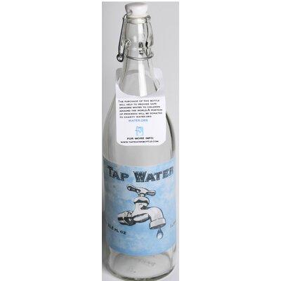 Quiles Tap 33.75 oz. Glass Water Bottle (Set of 2) 916D5C2D8522461380A769E2D9256C3F
