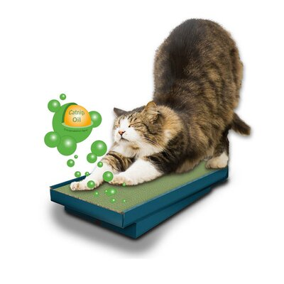 Seraphina Scratch-N-Sniff Double-Wide Scratching Post 479F1C074B33461AA05778A9D62E2FDD