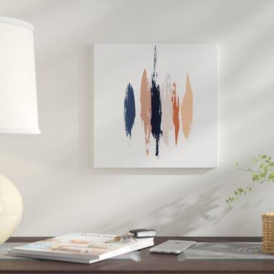 'Brushed II' Print on Canvas