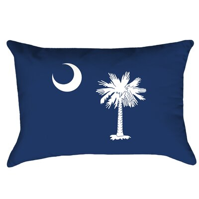 Katelyn Smith South Carolina Flag Cover Material: Cotton Twill-concealed Zipper-indoor, Fill Material: No Fill, Product Type: Pillow Cover
