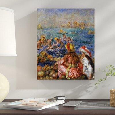'The Bathers' by Pierre-Auguste Renoir Print on Canvas 81698313EFF94EA0BA14B7A7DC06222E
