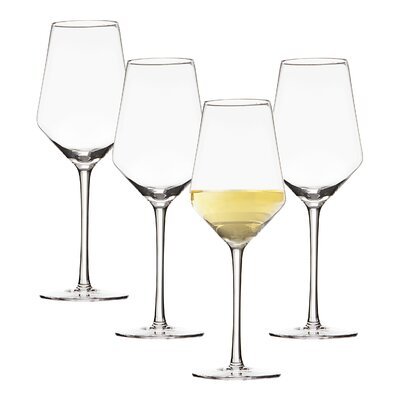 Leavens Personalized Glass 14 oz. White Wine Glass
